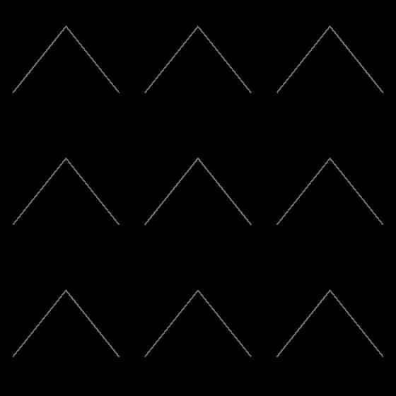 Jakke med mønster